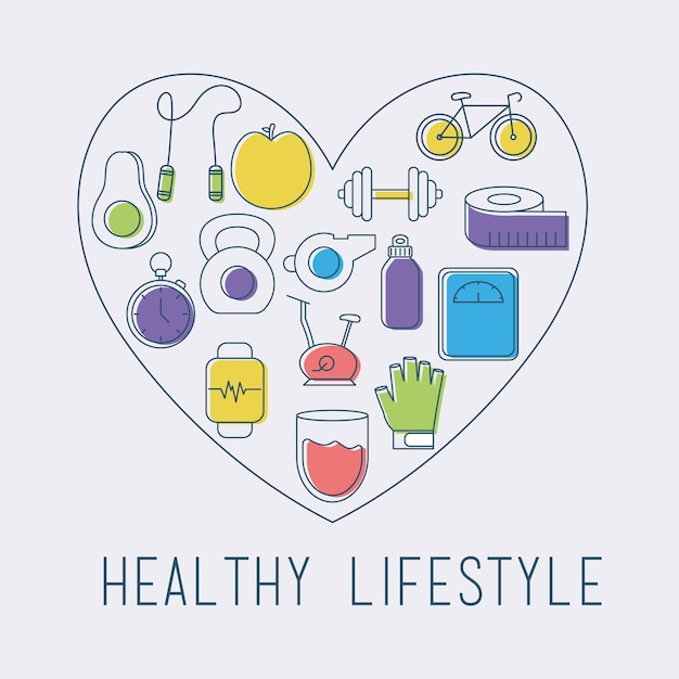Карта здорового образа жизни
