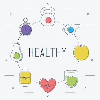 健康的なライフスタイルのカルテル