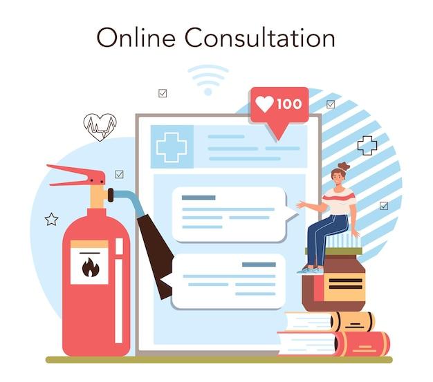 Онлайн-сервис или платформа для занятий здоровым образом жизни. идея безопасности жизни