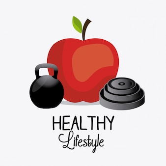 Healthy lifestyle design.