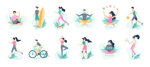 Healthy lifestyle infographic. sport and fitness, healthy