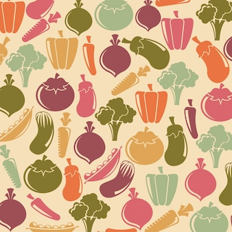 Healthy lifestyle over pink background vector illustration