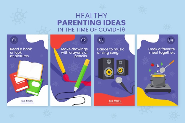 Healthy parenting tips for instagram