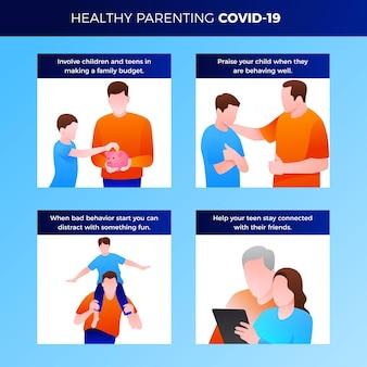 Suggerimenti per genitori sani