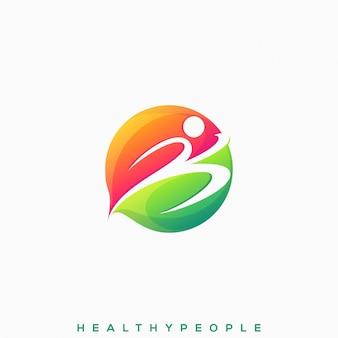 健康な人のロゴ