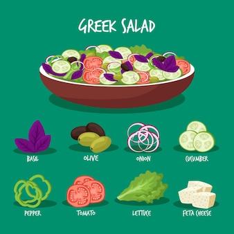 Healthy recipe concept