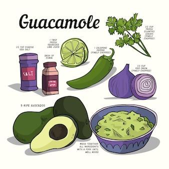 健康的なレシピのコンセプト