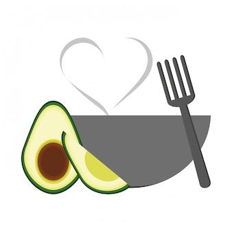 Healthy vegetables food