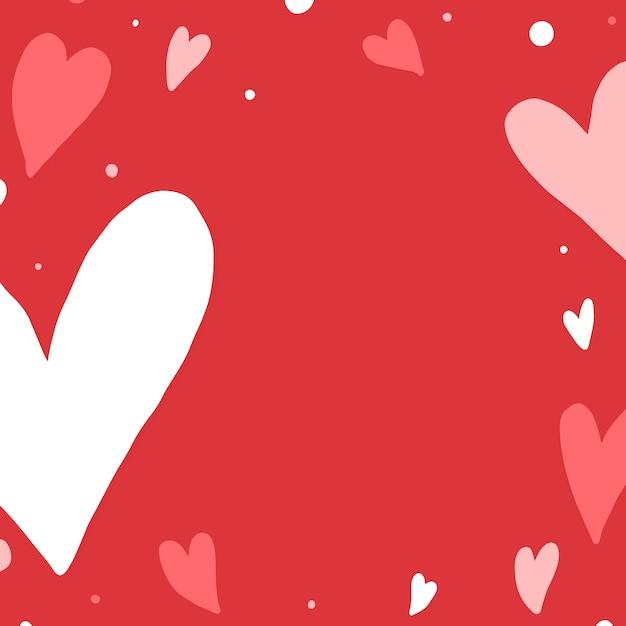 Heart background design