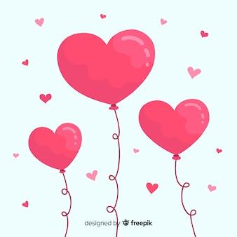 Sfondo palloncino cuore