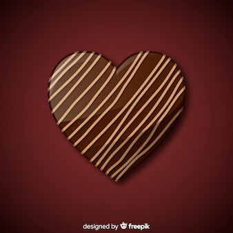 Heart bonbon background