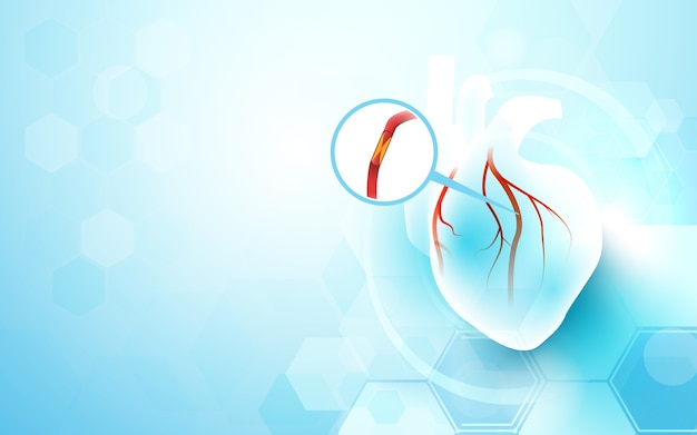 Heart cardiology background