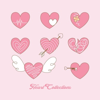 Heart collection