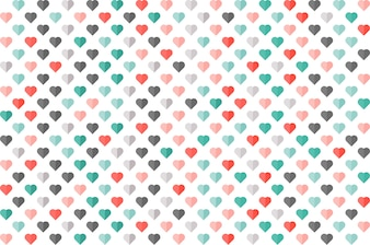 Heart color seamless pattern. wallpaper, card, banner, business.