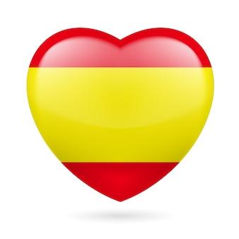 スペインのハートのアイコン