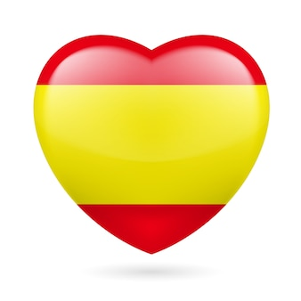 Heart icon of spain