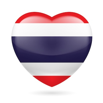 Heart icon of thailand