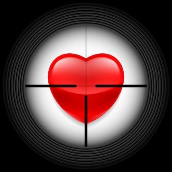 소총 광경의 심장