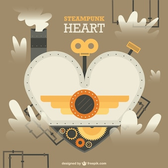 Steampunk 디자인의 심장