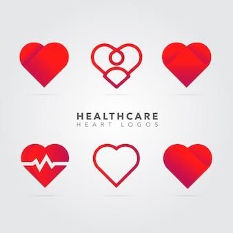 Heart logo collection