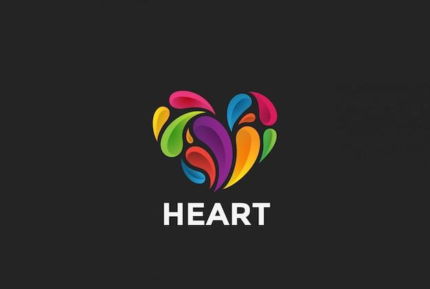 ハートのロゴ