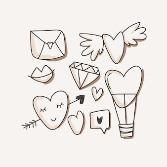 Сердце, любовные символы