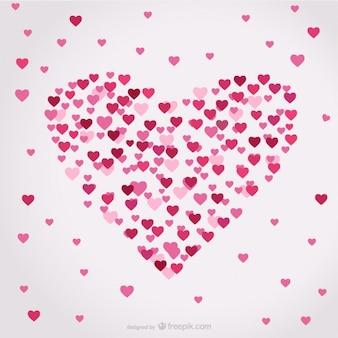 Vettore a forma di cuore