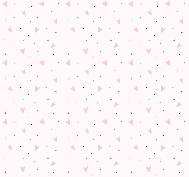 Heart pattern background