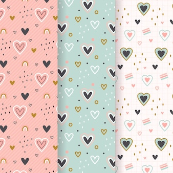 Heart pattern collection
