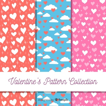 Hearts valentine's day pattern