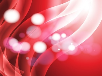 Heat red light strands vector