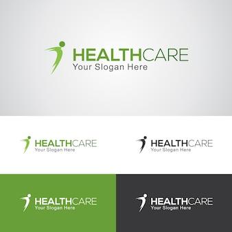Шаблон логотипа heath care
