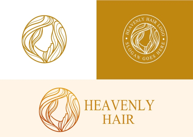 Heavenly hair logo