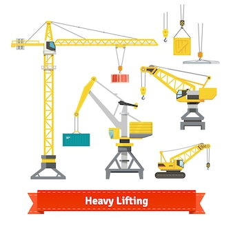 Heavy lifting elements
