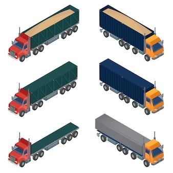 Heavy transportation isometric