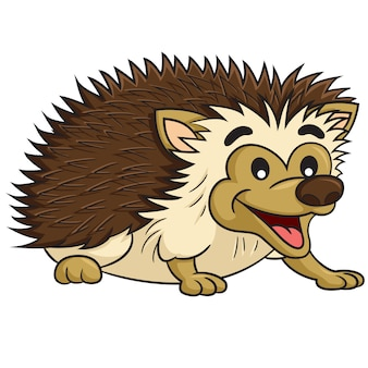 Hedgehog cute cartoon