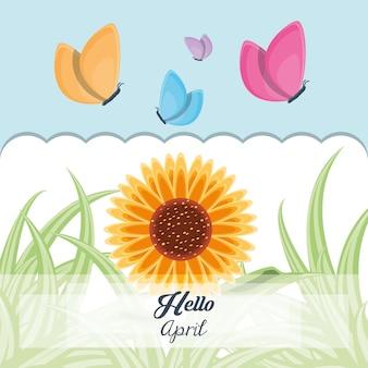 Hello april design