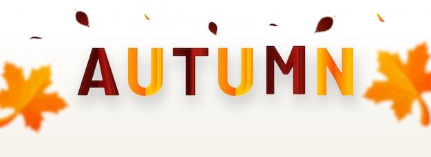 Hello autumn background.
