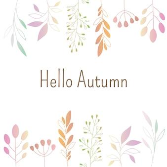 Hello autumn patten