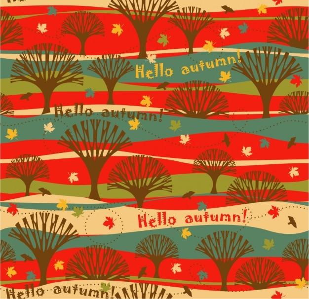 안녕하세요 가을 패턴
