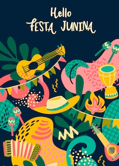 Hello festa junina.