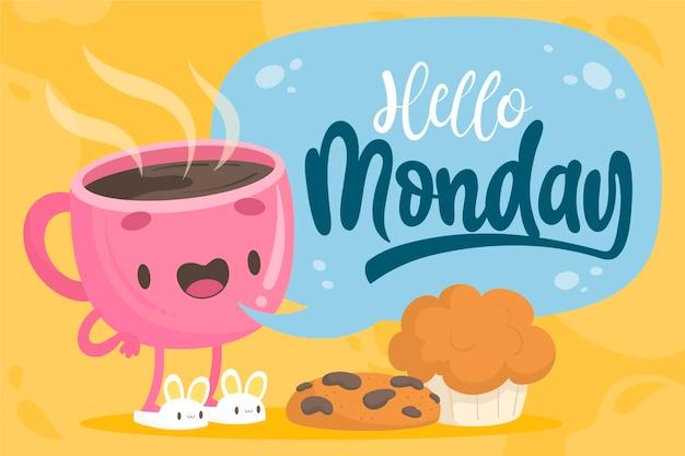 Понедельник - фон