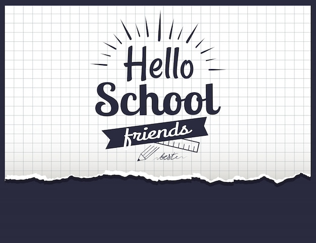 Hello school friends