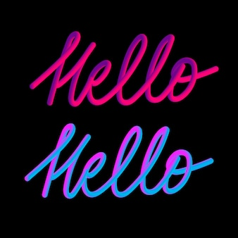 Hello slogan modern fashion slogan for t-shirt graphic print
