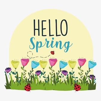 안녕하세요 봄 식물