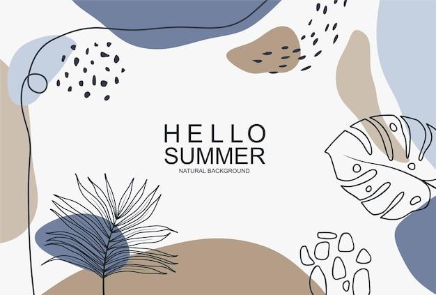 Привет, лето, баннер.