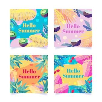Ciao collezione di post instagram estate