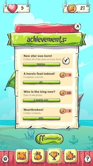 Hello summer playing field achievements on background