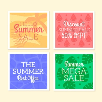 こんにちは夏のセールinstagramポストコレクション