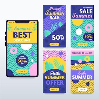 Hello summer sale instagram stories